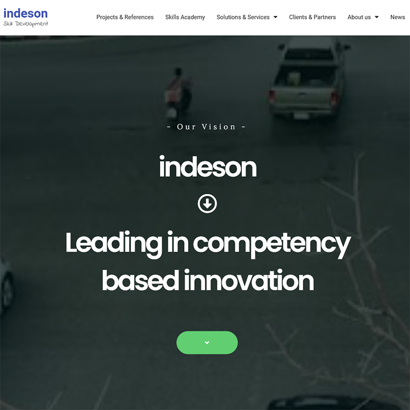 indeson website reference